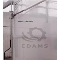 Manchon adaptateur motoréducteur EDAMS et cardan Ø19 méplat