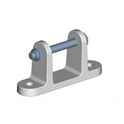 Window bracket set