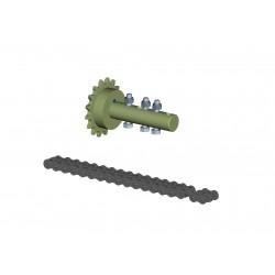 Accouplement a chaine Ø26