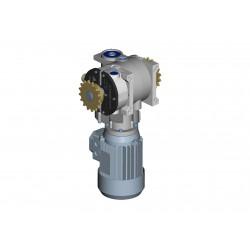 Opening/shading gear motor...
