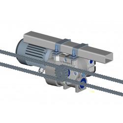 Spreading width  gear motor...