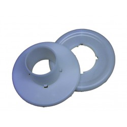 Plastic adaptor without valve